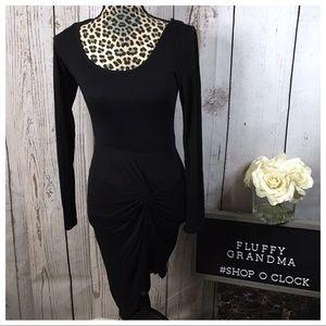 Charlotte Russe Black Bodycon Dress XS